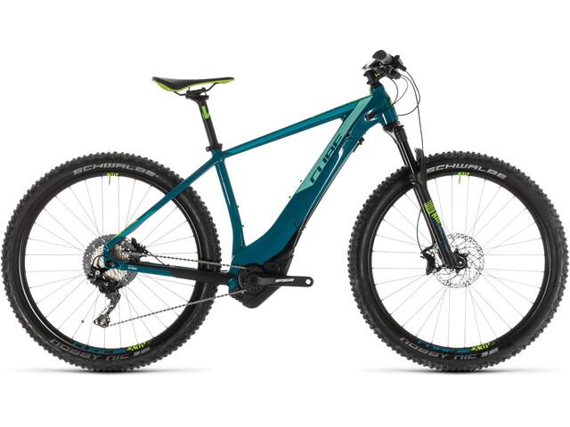 Cube Access Hybrid SL 500 KIOX E-mountainbike Damer petroleumsgrøn (2019) | City-cykler
